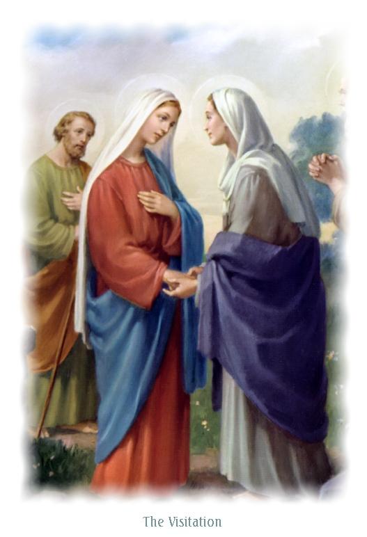 Resultado de imagen para Fiesta de la Visitación de la Virgen María