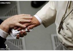 Papa Francisco recibe
