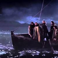 Jesús camina sobre las aguas; reflexión, oración, mensaje y petición.